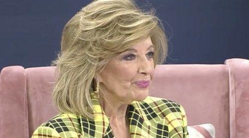 María Teresa Campos pone fin a su polémica con Isabel Gemio: 'Ya se ha hablado suficiente'
