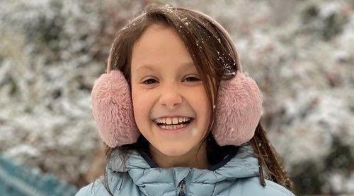 Las dulces e invernales fotos de Athena de Dinamarca por su noveno cumpleaños