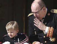 El día en el que Alberto de Mónaco se emocionó con un gesto de su hijo Jacques de Mónaco