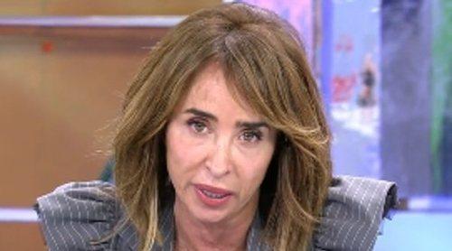La contestación de María Patiño a Carmen Borrego tras asegurar que le tiene 'pánico' y es 'mala persona'