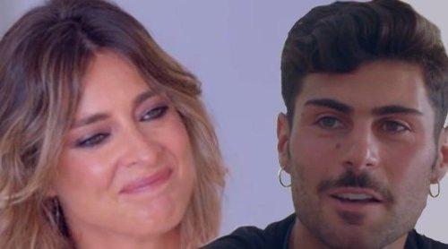 'La isla de las tentaciones 3': La declaración de amor de Hugo a Lara hace llorar a Sandra Barneda