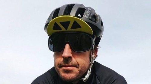 Fernando Alonso, operado de la mandíbula tras ser atropellado por un vehículo cuando entrenaba en bicicleta