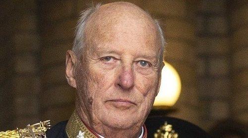 Harald de Noruega amplía su baja un mes más por sus problemas de salud