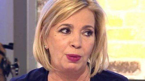 Carmen Borrego, por el enfrentamiento con Alejandra Rubio: 'He llorado, pero no voy de víctima'