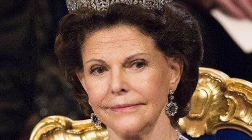 Silvia de Suecia sufre un accidente en el Palacio de Drottningholm