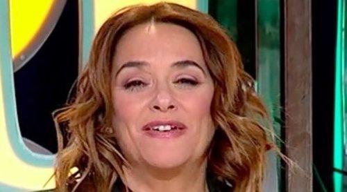 Toñi Moreno vive un momento 'tierra trágame' en una entrevista a Melody: 'Me das el disgusto de la noche'