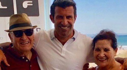 Muere la madre de Luis Figo, Maria Joana Pestana Madeira, tras padecer una enfermedad degenerativa
