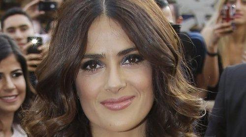 Salma Hayek denuncia que existe discriminación hacia los hombres ricos como su marido