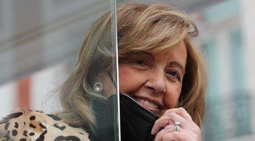 María Teresa Campos comienza las grabaciones de 'La Campos móvil' apoyada por su hija Terelu Campos