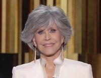"""El contundente discurso de Jane Fonda en los Globos de Oro 2021: """"Seamos líderes"""""""