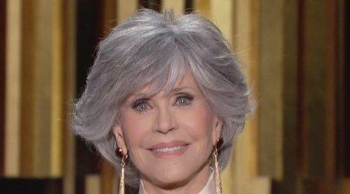 El contundente discurso de Jane Fonda en los Globos de Oro 2021: 'Seamos líderes'