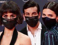 Seguridad anticovid y ganas de celebrar: Así ha sido la alfombra roja de los Premios Feroz 2021