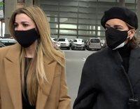 Bustamante, Chenoa, Natalia, Nuria Fergó, Parreño y Tenorio viajan a Barcelona para despedir a Álex Casademunt