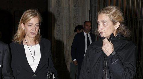 La Infanta Elena justifica el motivo de su vacunación junto a la Infanta Cristina