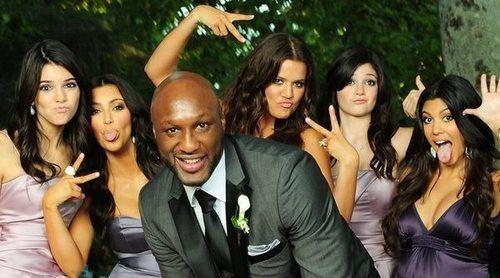 Lamar Odom, emocionado al ver de nuevo en televisión su vida junto a Khloé Kardashian en 'KUWTK'