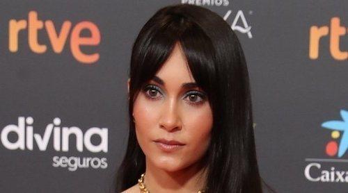 Aitana revela en la alfombra roja de los Goya 2021 sus condiciones para ser actriz