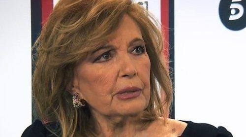 María Teresa Campos se pronuncia sobre el conflicto entre Carmen Borrego y Alejandra Rubio