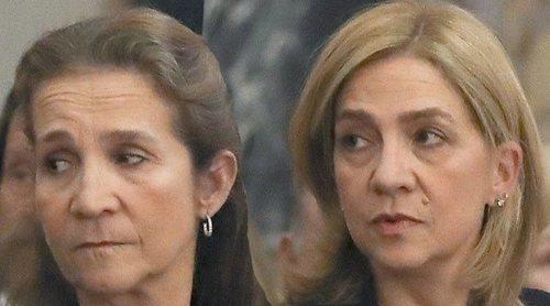 El enfado de las Infantas Elena y Cristina por la polémica tras su vacunación: tristeza y dos culpables