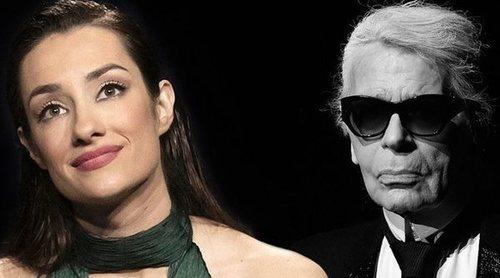 Adara Molinero cumple uno de sus sueños tras llamar la atención de la firma Karl Lagerfeld