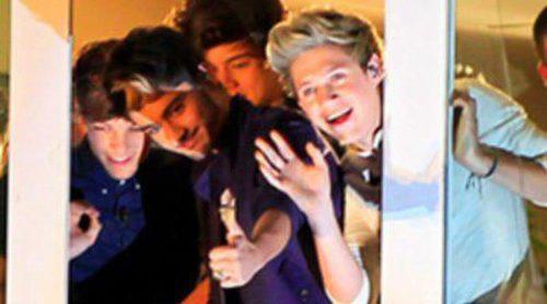 Harry Styles, Niall Horan, Zayn Malik, Louis Tomlinson y Liam Payne hacen enloquecer a sus fans en 'El Hormiguero'