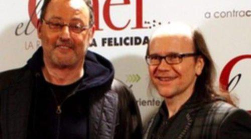 Jean Reno, Santiago Segura, Antonio Pagudo y Macarena Gómez asistieron al estreno de 'El Chef, la receta de la felicidad'