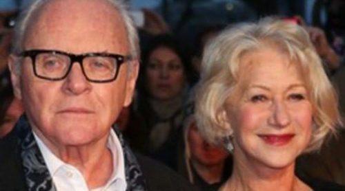 Anthony Hopkins y Helen Mirren asisten al estreno de 'Hitchcock' en Londres