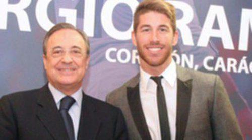 Iker Casillas y Cristiano Ronaldo arropan a Sergio Ramos en la presentación de 'Corazón, carácter y pasión'
