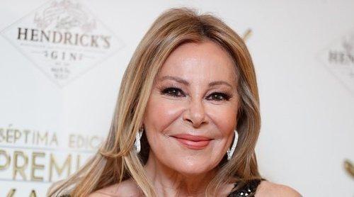 Ana Obregón dedica su Premio Yago de Honor 2021 a su hijo Álex Lequio: 'Allá donde esté, estará feliz'