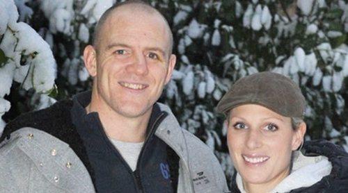 Zara Phillips y Mike Tindall, padres de su tercer hijo