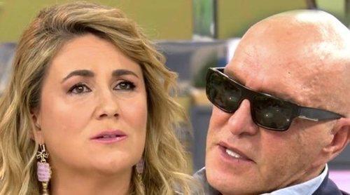 La discusión de Carlota Corredera y Kiko Matamoros por el testimonio de Rocío Carrasco: 'Igualas a víctima y agresor'