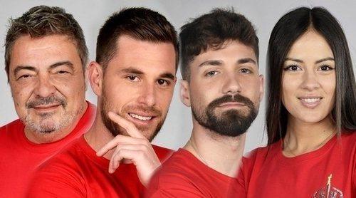 Melyssa Pinto, Tom Brusse, Alejandro Albalá y Antonio Canales, nominados de la semana de 'Supervivientes 2021'