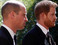 El acercamiento entre los Príncipes Guillermo y Harry al que se unió Kate Middleton tras el funeral del Duque de Edimburgo
