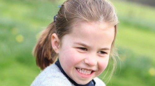 De cómo fue la celebración del 6 cumpleaños de la Princesa Carlota a lo que contesta cuando le preguntan su edad