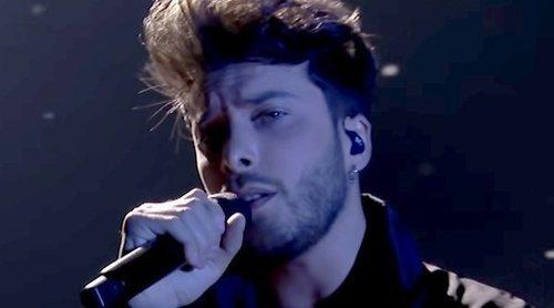 Así fue la actuación de Blas Cantó en Eurovisión 2021