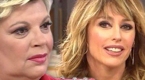 Terelu Campos frena a Emma García en un alegato sobre Rocío Flores y su paliza a Rocío Carrasco