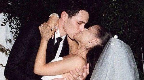 Ariana Grande publica las primeras imágenes de su boda con Dalton Gomez
