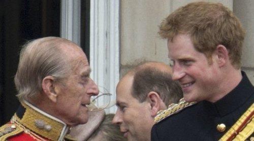 Nadie avisó al Príncipe Harry de la muerte de su abuelo el Duque de Edimburgo