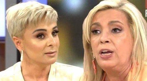 Carmen Borrego y Ana María Aldón tienen un rifirrafe por el apoyo a Rocío Carrasco en el homenaje de su madre