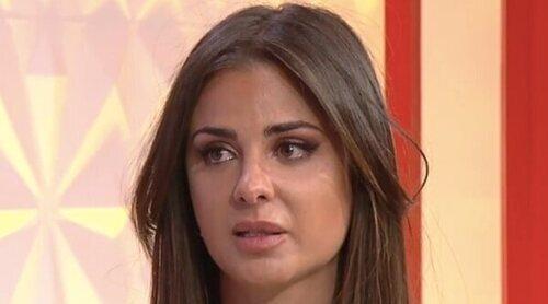 Alexia Rivas no puede contener las lágrimas al volver al plató de 'Socialité': 'Me fui por la puerta de atrás'