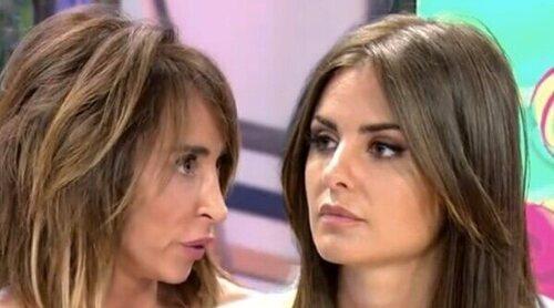 El reencuentro de Alexia Rivas y María Patiño entre reproches:
