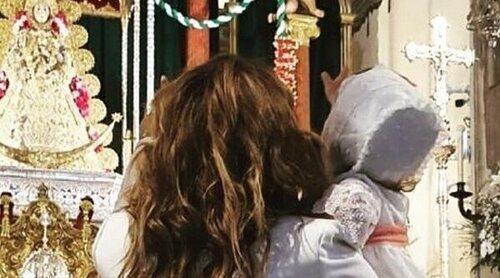 Toñi Moreno celebra el bautizo de su hija Lola en un lugar muy especial