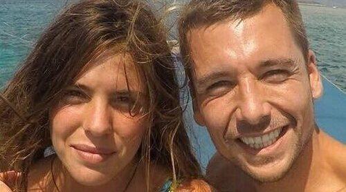 Laura Matamoros presume de su segundo embarazo por primera vez durante sus vacaciones con Benji y su hijo