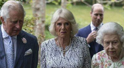 La Familia Real Británica saca músculo capitaneada por la Reina Isabel ante los líderes del G7