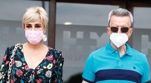 José Ortega Cano recibe el alta hospitalaria: 'Parece que está fuerte el corazón'