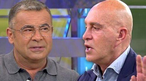 Jorge Javier estalla contra Matamoros después de que diga que no habló mal de Rocío Carrasco los últimos meses