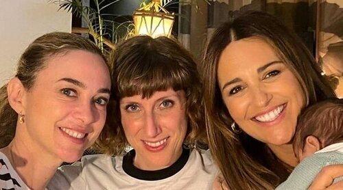 El reencuentro de Paula Echevarría con sus 'chicas Velvet' tras el nacimiento de su hijo Miguel