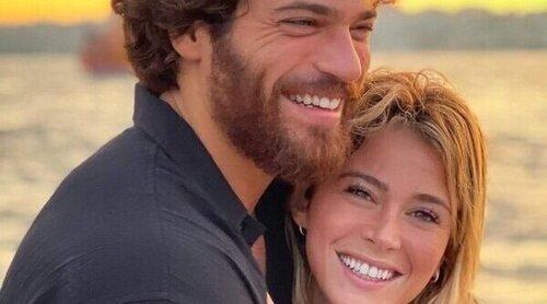 Diletta Leotta conoce a los padres y amigos de Can Yaman en unas idílicas vacaciones en Turquía