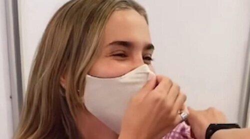 María Pombo responde a las críticas por haber sido vacunada contra el coronavirus