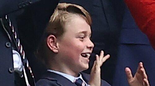La emoción del Príncipe Jorge por la victoria de la Selección de Inglaterra en la Eurocopa 2020