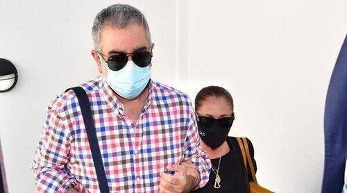 Isabel Pantoja acude a declarar como testigo en el juicio de Kiko Rivera contra Agustín Pantoja